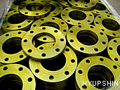 Jinan Hyupshin Flanges Co., Ltd, Forged Flanges, Steel Flanges, Manufacturer, Exporter from Shandong of China, flange clean and  rust prevention