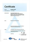 Jinan Hyupshin Flanges Co., Ltd, Forged Flanges Manufacturer, Exporter, TUV ISO9001 2015 certificate