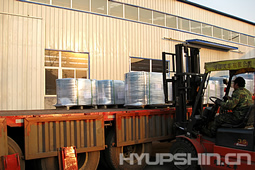 Flanges Loading and Delivery