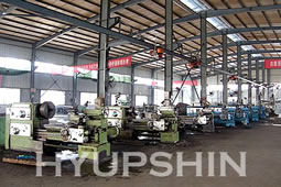 Jinan Hyupshin Flanges Co., Ltd Lathes workshop
